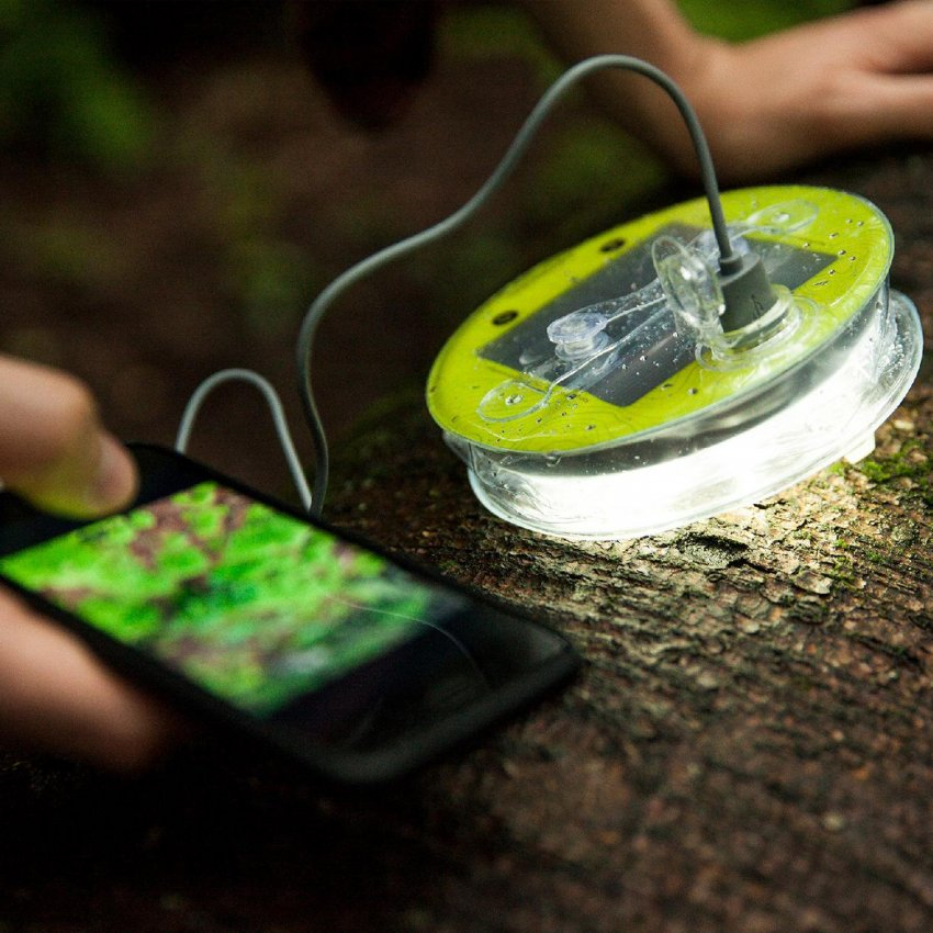 Outside Online tests Luci Outdoor Pro – The Good Karma Company